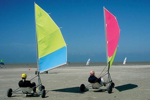 Sand yachting, Cherrueix
