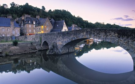 Dinan by the river Rance