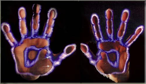 Kirlian hands