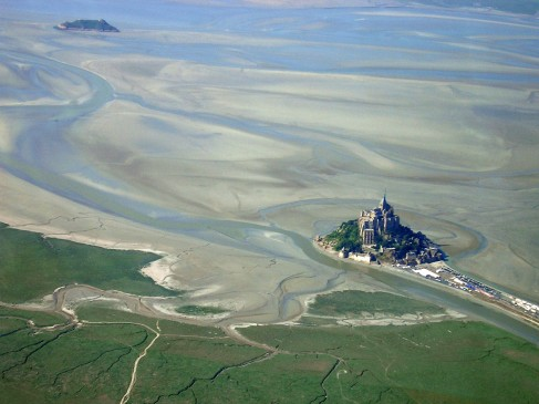 The Mont Saint Michel & La Tombelaine