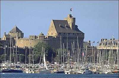 Saint Malo old town