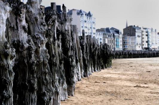 Saint Malo beach