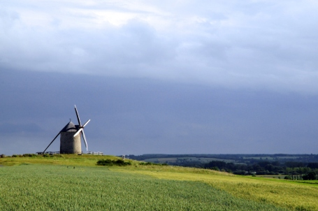 Windmill nr Mont Saint Michel