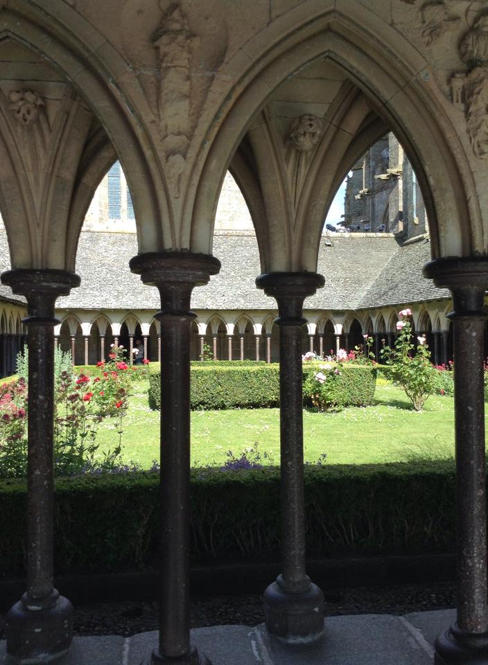 The Cloisters of the Abbey