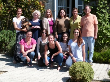 Members of the first It's In You retreat, gathered from around the world.