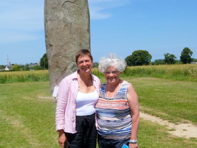 The Menhir du Champ Dolent